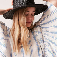 Vanessa Straw Boater Hat | Urban Outfitters