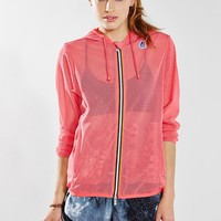 K-Way Lily Mesh Jacket - Urban Outfitters