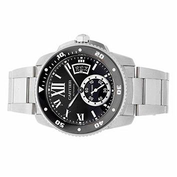 Cartier Calibre de Cartier automatic-self-wind mens Watch W7100057