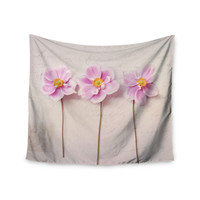 "Sylvia Cook ""Anemone Trio"" Wall Tapestry"