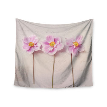 """Sylvia Cook """"Anemone Trio"""" Wall Tapestry"""