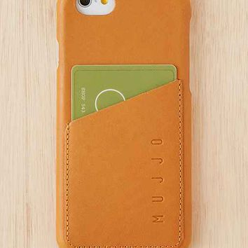 Mujjo Leather Wallet iPhone 6/6s Case