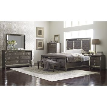 Roxie Panel Configurable Bedroom Set