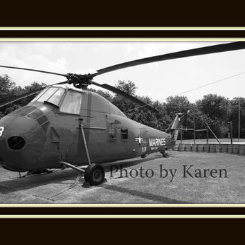 Copter 5 x 7 Original Photograph other sizes by ClicksByKaren