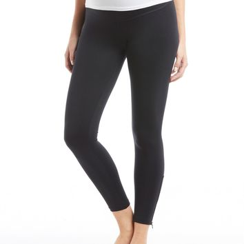 David Lerner Maternity Zipper Legging