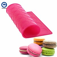 2 Sides Macaron Silicone Mold 48 With 3CM Round Holes 20 With 5CM Round Holes Cake Decorating Tools Pad Bakeware Baking Tools