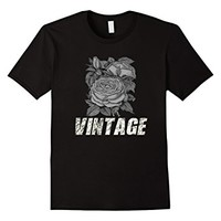 T-Shirt Vintage Rose Flowers