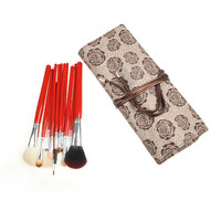 Hot Sale Red Rose 10-pcs Make-up Brush Set = 4831017092