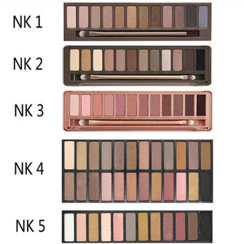 [BIG SALE] naked 3 original color 12 color eye shadow eye nude makeup bare earth color eyeshadow naked palette NAKED3 Cosmetic Free shipping