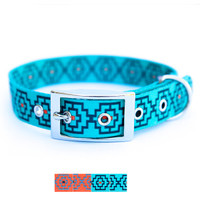 KISS MY MUTT® 'Geo Print' Collection Dog Collar