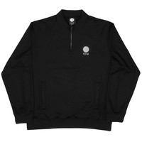 Half Zip Sweatshirt (Black/Reflective Silver)