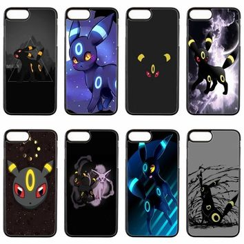 cute kawaii anime  umbreon cover case For ipod touch iPhone 4 4s 5 5s 5c SE 6 6s plus 7 7plus 8 8plus X phone caseKawaii Pokemon go  AT_89_9