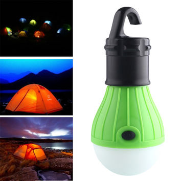 Soft tent accessory Light Outdoor Hanging LED Camping Tent Light Bulb Fishing Lantern Lamp