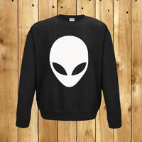Alien Printed Causal Sweater B0014039