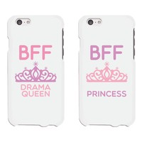 Cute Best Friend Phone Cases - Drama Queen and Princess Phone Covers for iphone 4, iphone 5, iphone 5C, iphone 6, iphone 6 plus, Galaxy S3, Galaxy S4, Galaxy S5, HTC M8, LG G3