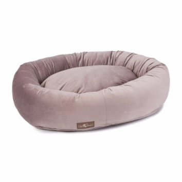 Vintage Plush Velour Dog Bed Collection