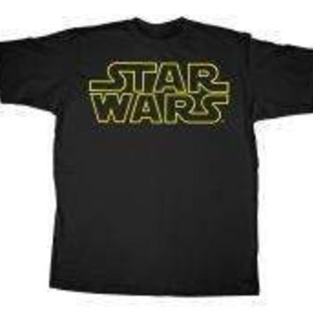 Mens Star Wars Simplified T-Shirt