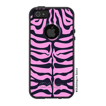 100% Genuine OTTERBOX COMMUTER for iPhone 5 5S 4 4S Samsung Hot Pink Tiger Zebra Animal Print Kids Phone Case Hot Pink