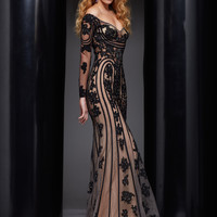 Off The Shoulders With Long Sleeves Prom Dress By Jasz Red 5331