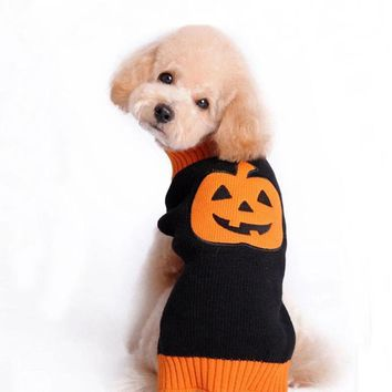 New Christmas Halloween Knitting Dog Sweater New Year Winter Soft Washable Dog Clothes for Small large dog Costume Coat Clothes