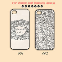 lot of cats, iPhone 5 case, iPhone 5C Case, iPhone 5S , Phone cases, iPhone 4 , iPhone 4S , Case,Samsung Galaxy S3, Samsung Galaxy S4