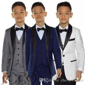 Boys Tuxedo Boys Dinner Suits Boys Formal Suits Tuxedo for Kids Tuxedo