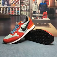 """NIKE"" Fashion Casual Multicolor Unisex Sneakers Couple Running Shoes"