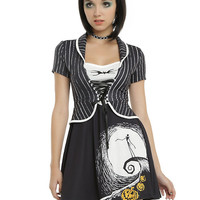 The Nightmare Before Christmas Jack Moon Dress