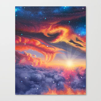 Eternal shining Canvas Print by exobiology
