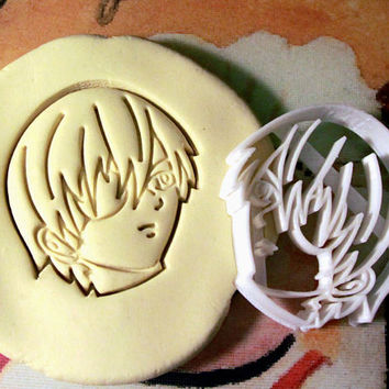 2 piece Black Butler Kuroshitsuji Anime Cookie Cutter - Made from Biodegradable Material