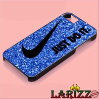 Nike Just Do It Glitter for iphone 4/4s/5/5s/5c/6/6+, Samsung S3/S4/S5/S6, iPad 2/3/4/Air/Mini, iPod 4/5, Samsung Note 3/4 Case *002*