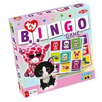 Ty Beanie Boos Bingo Game - Family Game by Tactic Games (53290)