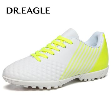 DR.EAGLE indoor soccer shoes for boys man the soccer shoe cleats child crampon football shoes kids original football boots