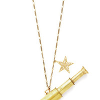 ModCloth Scholastic In the Distance Necklace