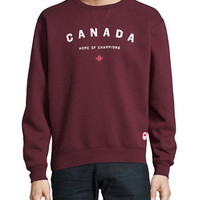 x Peace Collective Home of Champs Graphic Sweater | Hudson's Bay