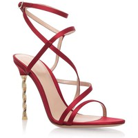 Gianvito Rossi Satin Wrap Sandals | Harrods.com
