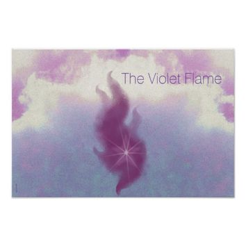 The Violet Flame Poster