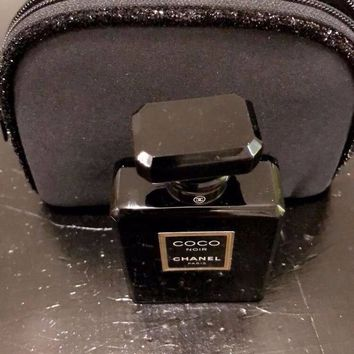 DCCKUG3 Coco Noir Chanel Paris 1.7 fl 100% authentic with chanel bag