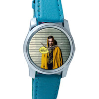 Jesse Pinkman Breaking Bad Inspired Fan Art Quote Wrist Watch