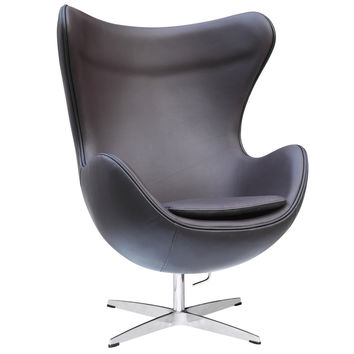 Inner Chair Leather, Brown Leather