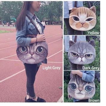 Tote Bag 3D Animal Pattern Bags Shoulder Bag [6880299143]