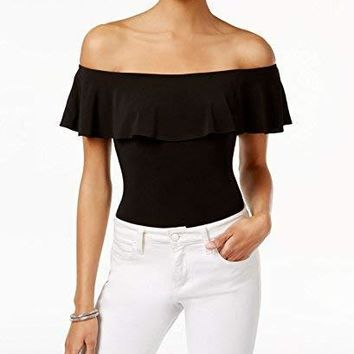 Bar III Women's Off-The-Shoulder Bodysuit