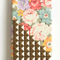 Pastel Rose Studded iPhone Case - $35.00: ThreadSence, Women's Indie & Bohemian Clothing, Dresses, & Accessories