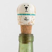 Dog Bottle Stopper by Natural Life