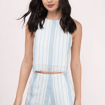 Neveah Striped Shorts