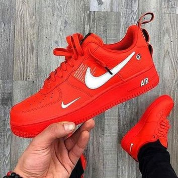NIKE AIR FORCE 1 AF1 OW Running Sport Shoes Sneakers-7