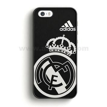 Real Madrid Fc Jersey Black Adidas iPhone 5/5S Case | Aneend.com