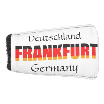 Frankfurt Golf Head Cover