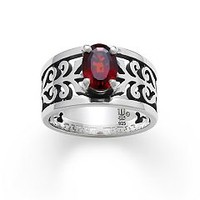 Adoree Ring with Garnet | James Avery