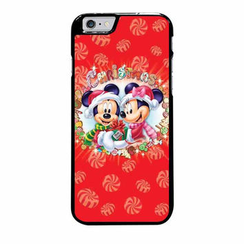 mickey and minnie mouse disney christmas iphone 6 plus 6s plus 4 4s 5 5s 5c 6 6s cases